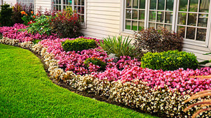 Residential landscape services in Burlington, MA